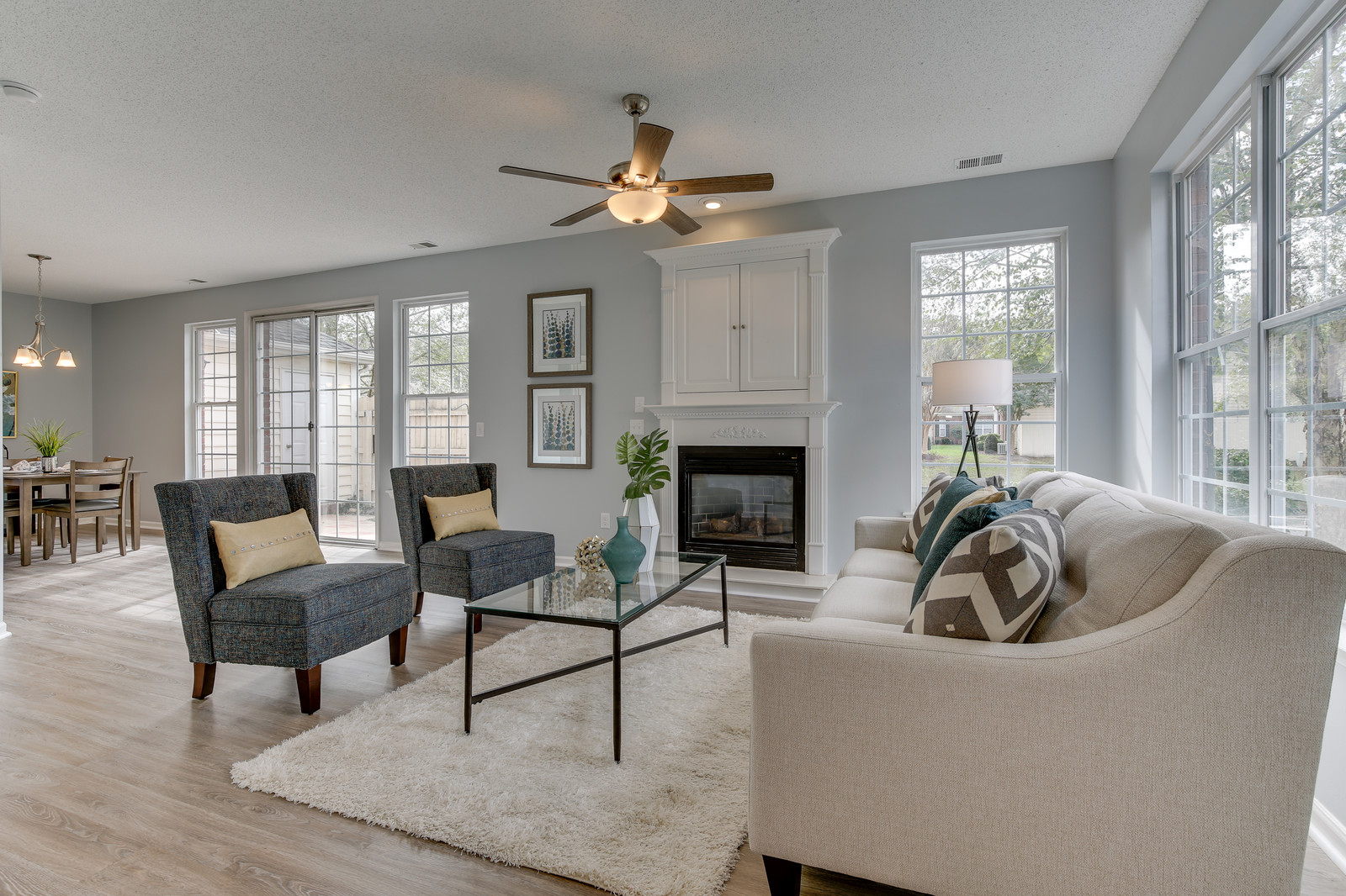 Impressive Home Staging Example - Ludington Drive
