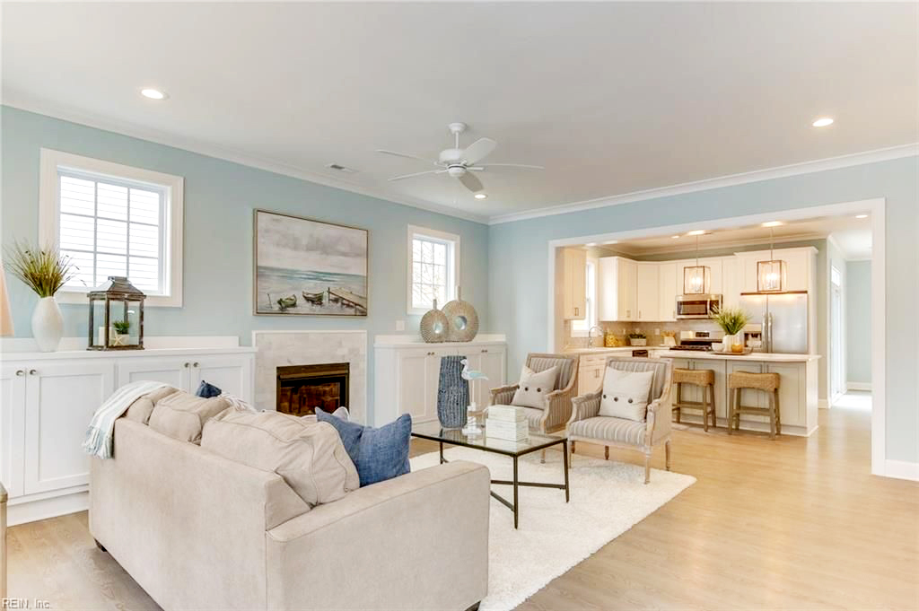 Impressive Home Staging Example - Smithfield, VA - Staging Company